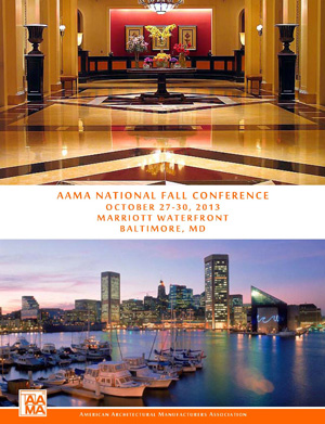 2013 AAMA Fall Conference Announcement Cover Image