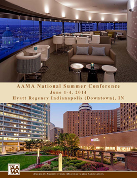 2014 AAMA Summer Conference Announcement Cover