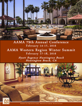 AAMA 2016 Annual Conference Announcement Cover Image