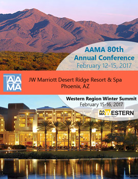 AAMA 2017 Annual Conference Announcement Cover