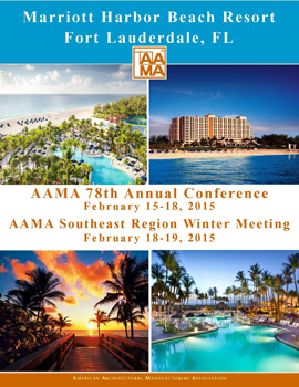2015 AAMA Annual Conference Announcement Cover