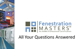 FenestrationMasters Presentation Cover Image