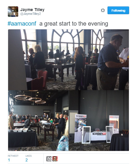 Twitter post | AAMA Supplier Product Display