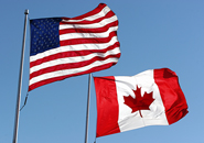 RSS US and Canadian flags
