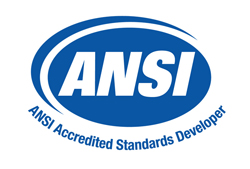 ANSI Accredited Standards Developer Logo