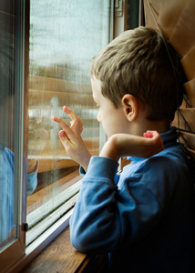 Window Safety Week | Boy by Window